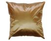 タイシルク クッションカバー  【無地】 シンプル デザイン  シャンパン ゴールド 【金】   【Simple Design , Champagne Gold / Thaisilk Cushion Cover】45×45cm 対応