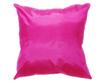 タイシルク クッションカバー  【無地】 シンプル デザイン  ピンク 【桃色】   【Simple Design , Pink / Thaisilk Cushion Cover】45×45cm 対応