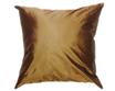タイシルク クッションカバー  【無地】 シンプル デザイン  ゴールド 【金】   【Simple Design , Gold / Thaisilk Cushion Cover】45×45cm 対応