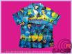 "Original Hawaiihemd "" Blue blue Sky"" Ladys"