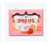 韩国可瑞安山都草莓饼干161G