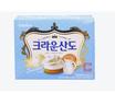 韩国可瑞安山都奶油饼干161G