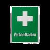 Rettungszeichen Verbandkasten + Erste Hilfe-Kreuz 400 x300 mm