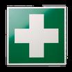 Rettungszeichen Erste Hilfe-Kreuz