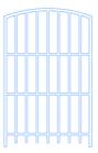 Fenstergitter für Diensträume der Bayr. Gebäude