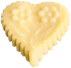 006 Sommermarzipan-Herzen (Zitrone)