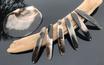Onix Premium Perlmutt-Spange