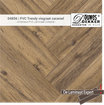 Sample 04856 DD PVC Trendy visgraat caramel