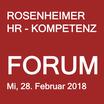 ROSENHEIMER HR-KOMPETENZFORUM