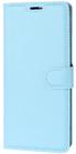 Moovie Samsung S9 PLUS Custodia Eco-Pelle con tasche carte di credito Azzurro