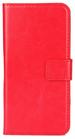 Moovie IPH7/8 Plus Custodia Eco-Pelle con tasche carte di credito Rosso