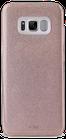 Puro Galaxy S8 Cover Shine Glitter  color Rose Gold