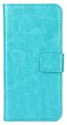 Moovie IPH7/8 Custodia Eco-Pelle con tasche carte di credito Azzurro
