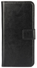 Moovie IPH6/6s Custodia Eco-Pelle con tasche carte di credito Nero