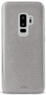 "Puro Galaxy S9 Plus Cover PC+TPU Shine  6.2"" Colore Silver"