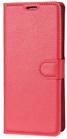 Moovie Samsung S9 PLUS Custodia Eco-Pelle con tasche carte di credito Rosso
