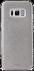 Puro Galaxy S8 Cover Shine Glitter Color Silver