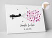 Wedding Fingerprint — Flugzeug