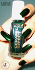 Layla Ceramic Effect 10 green fever