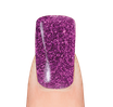 LaylaGel Polish Color 45 purple glitter
