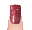 LaylaGel Polish 56 red glitter