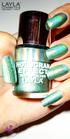 Layla Hologram Effect 10 emerald divine