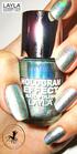 Layla Hologram Effect 05 jade groove