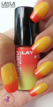 Layla Thermo Polish Effect 3 red to yellow