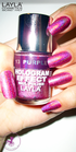 Layla Hologram Effect 13 purple illusion