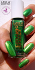 Layla Ceramic Effect 61 golden green