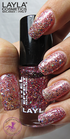 Layla Jewel Effect 3 Coral