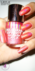 Layla Hologram Effect 11 shock pink