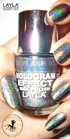 Layla Hologram Effect 08 flash black
