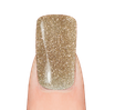 LaylaGel Polish Color 43 gold glitter