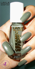 Layla Ceramic Effect 35 khaki green