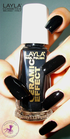 Layla Ceramic Effect 31 pure black