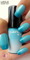Layla Thermo Polish Effect 1 dark to light blue