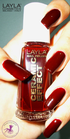 Layla Ceramic Effect 14 vamp red