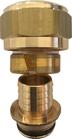 Klemmringverschraubung Thermovalrohr 21x2,4mm