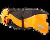 anny•x Mantelgeschirr Protect Atlantic - leuchtorange/braun