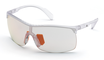 Adidas SP 0003 Transparent Frosted Crystal / Vario Grey Photochromic