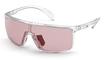 Adidas SP 0004 Shiny Iridescent Rose Crystal / Vario Rosé Photochromic