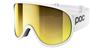 POC Retina Big Clarity Hydrogene White Bronze Silver Mirror