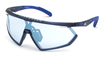 Adidas SP 0001 Transparent Frosted Dark Blue / Vario Blue Mirror Photochromic