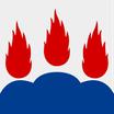 Västmanlands Län Flag