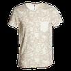 T-shirt mimetica deserto con taschino mod