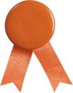 Medaglia con nastrini e clip di fissaggio