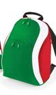 Zaino con colori bandiera italiana