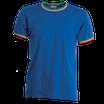 T-shirt con bordi in tricolore PAYPER
