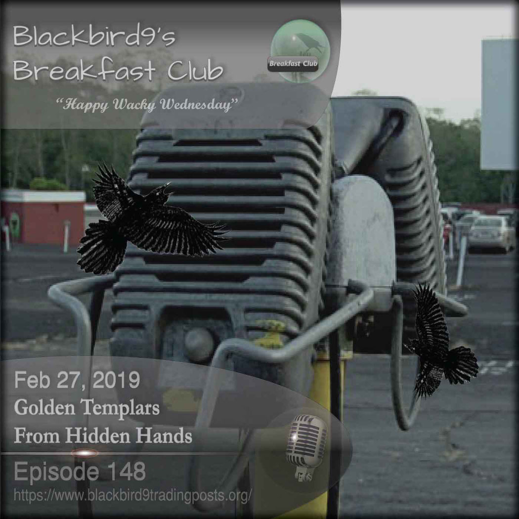 Golden Templars From Hidden Hands - Blackbird9